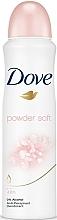 Parfumuri și produse cosmetice Antiperspirant spray cu acorduri aromatice de pudră - Dove