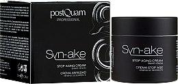 Parfumuri și produse cosmetice Cremă anti-îmbătrânire - Postquam Syn-ake Stop Aging Cream