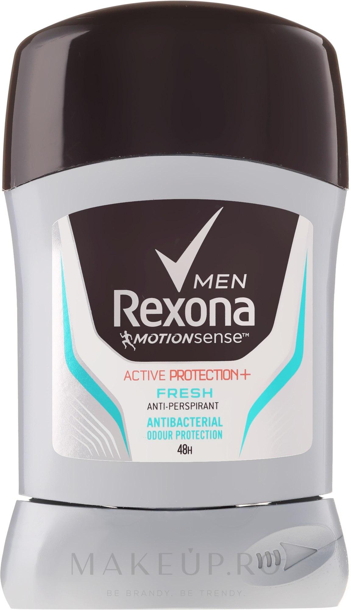 """Deodorant Stick pentru bărbați """"Scut activ de prospețime"""" - Rexona Men Active Protection+ Fresh Deodorant Stick — Imagine 50 ml"""