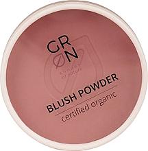 Parfumuri și produse cosmetice Fard de obraz - GRN Blush Powder (Rosewood)