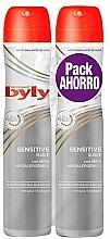 Parfumuri și produse cosmetice Set - Byly Sensitive (deo/2x200ml)