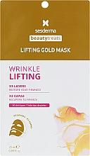 Parfumuri și produse cosmetice Mască de aur cu colagen - SesDerma Laboratories Beauty Treats Lifting Gold Mask