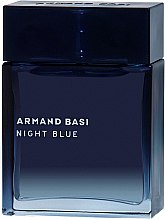 Parfumuri și produse cosmetice Armand Basi Night Blue - Apă de toaletă (tester cu capac)