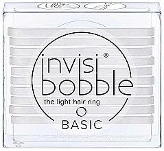 Parfumuri și produse cosmetice Set elastice de păr - Invisibobble Basic Crystal Clear