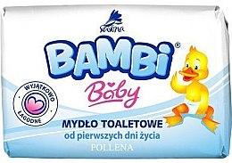 Parfumuri și produse cosmetice Săpun pentru copii - Bambi Baby