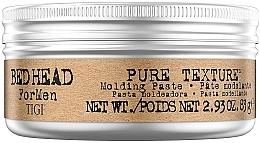 Parfumuri și produse cosmetice Pastă pentru crearea coafurilor pentru bărbați - Tigi Bed Head Men Pure Texture