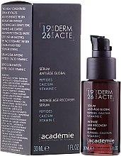 Parfumuri și produse cosmetice Ser intensiv de întinerire - Academie Serum Anti-Age Global Peptides-Calcium Vitamin C