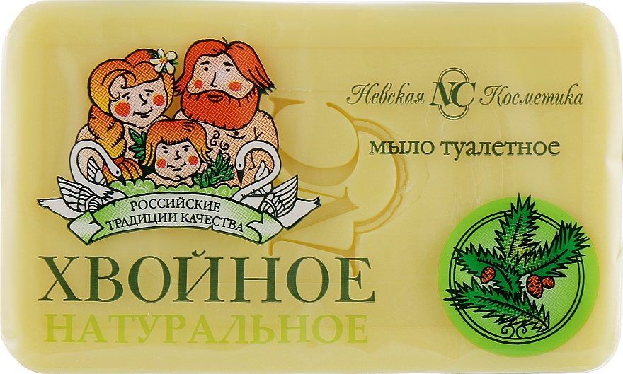 """Săpun de toaletă """"Conifer"""" - Cosmetică Nevskaya"""