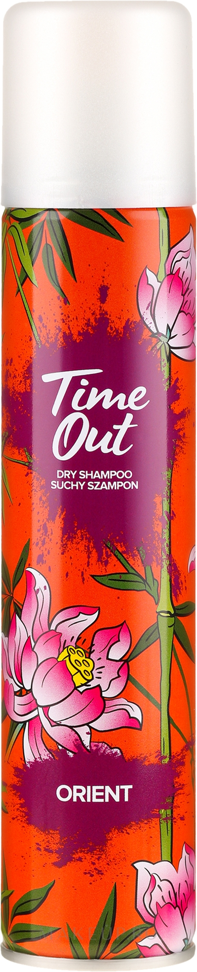 Șampon uscat pentru păr - Time Out Dry Shampoo Orient — Imagine 200 ml