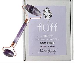 Parfumuri și produse cosmetice Rolă pentru masaj facial Ametist - Fluff Face Roller Ametyst