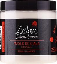 """Parfumuri și produse cosmetice Ulei nutritiv pentru corp """"Măr și Lavandă"""" - Zielone Laboratorium"""