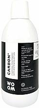 Parfumuri și produse cosmetice Apă de gură cu cărbune activat - Woom Carbon+ Mouthwash with Whiteness Action