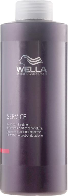 Mască de îngrijire a părului după ondularea chimică - Wella Professionals Service Perm Post Treatment — Imagine N1