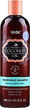 Parfumuri și produse cosmetice Șampon nutritiv cu ulei de cocos - Hask Coconut Oil Shampoo