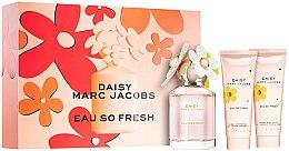 Parfumuri și produse cosmetice Marc Jacobs Daisy Eau So Fresh - Set (edt/75ml + b/lot/75ml + sh/gel/75ml)