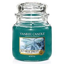 Parfumuri și produse cosmetice Lumânare aromată, în borcan - Yankee Candle Icy Blue Spruce