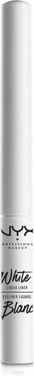 Eyeliner lichid - NYX Professional Makeup White Liquid Liner — Imagine N1