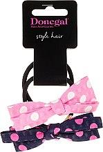 Parfumuri și produse cosmetice Elastic de păr Hearts-Me, 2 buc. - Donegal