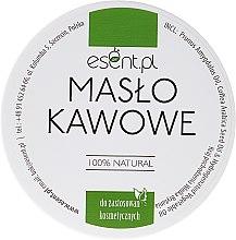 Parfumuri și produse cosmetice Unt de cafea pentru corp - Esent