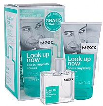 Parfumuri și produse cosmetice Mexx Look Up Now for Him - Set (edt 50ml + sh/gel 150ml)