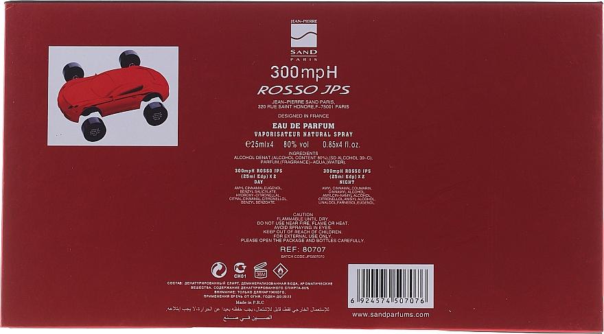 Jean-Pierre Sand 300 mph Rosso - Apă de parfum — Imagine N2