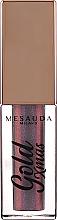 Parfumuri și produse cosmetice Fard lichid de pleoape - Mesauda Milano Gold XMas Gossip Eye