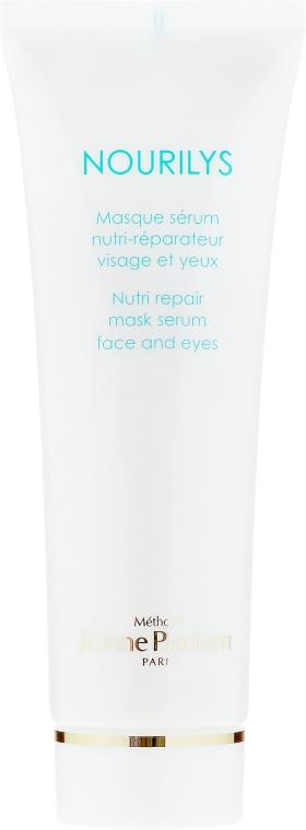 Mască regenerantă pentru zona ochilor - Methode Jeanne Piaubert Nourilys Nutri Repair Mask Serum Face & Eyes — Imagine N2