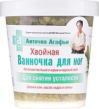 """Parfumuri și produse cosmetice Sare de baie pentru picioare """"Conifere"""" - Reţete bunicii Agafia"""
