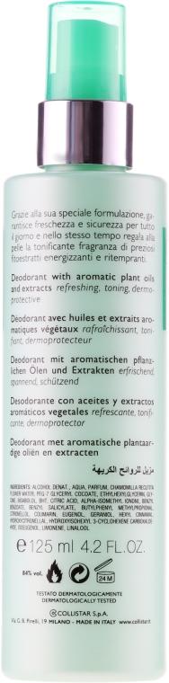 Deodorant spray - Collistar Speciale Benessere Deodorant — Imagine N2