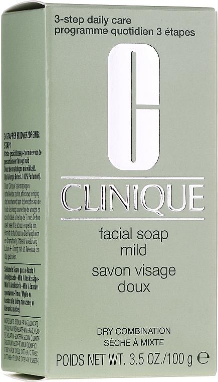 Săpun pentru față - Clinique Facial Soap Mild — Imagine N1