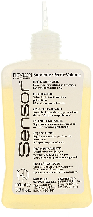 Soluție pentru păr vopsit și aranjare chimică - Revlon Professional Sensor Perm-Supreme — Imagine N2