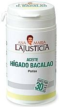"""Parfumuri și produse cosmetice Supliment alimentar """"Ulei de ficat de cod"""" - Ana Maria Lajusticia"""