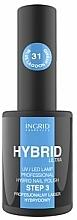 Parfumuri și produse cosmetice Ojă semipermanentă - Ingrid Cosmetics Hybrid Ultra Nail Polish