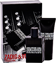 Parfumuri și produse cosmetice Zadig & Voltaire This is Him - Set (edt/50ml + sh/gel/75ml)