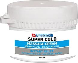 Parfumuri și produse cosmetice Cremă pentru masaj corporal super rece - Pasmedic Super Cold Massage Cream