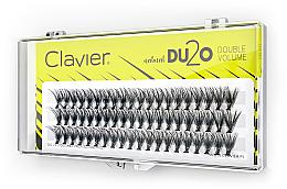 """Parfumuri și produse cosmetice Gene false """"Volum dublu"""", 10 mm - Clavier DU2O Double Volume"""