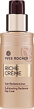 Parfumuri și produse cosmetice Loțiune antirid - Yves Rocher Riche Creme Sublimating Radiance Day Care