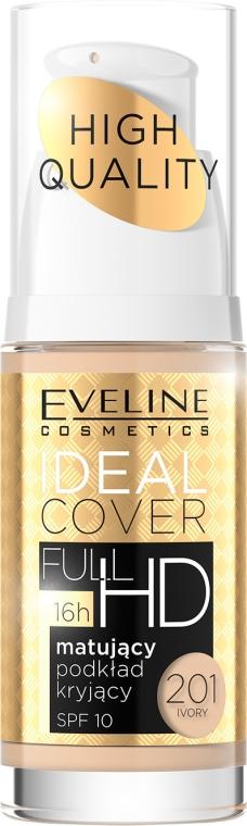 Fond de ten matifiant - Eveline Cosmetics Ideal Cover Full HD SPF10
