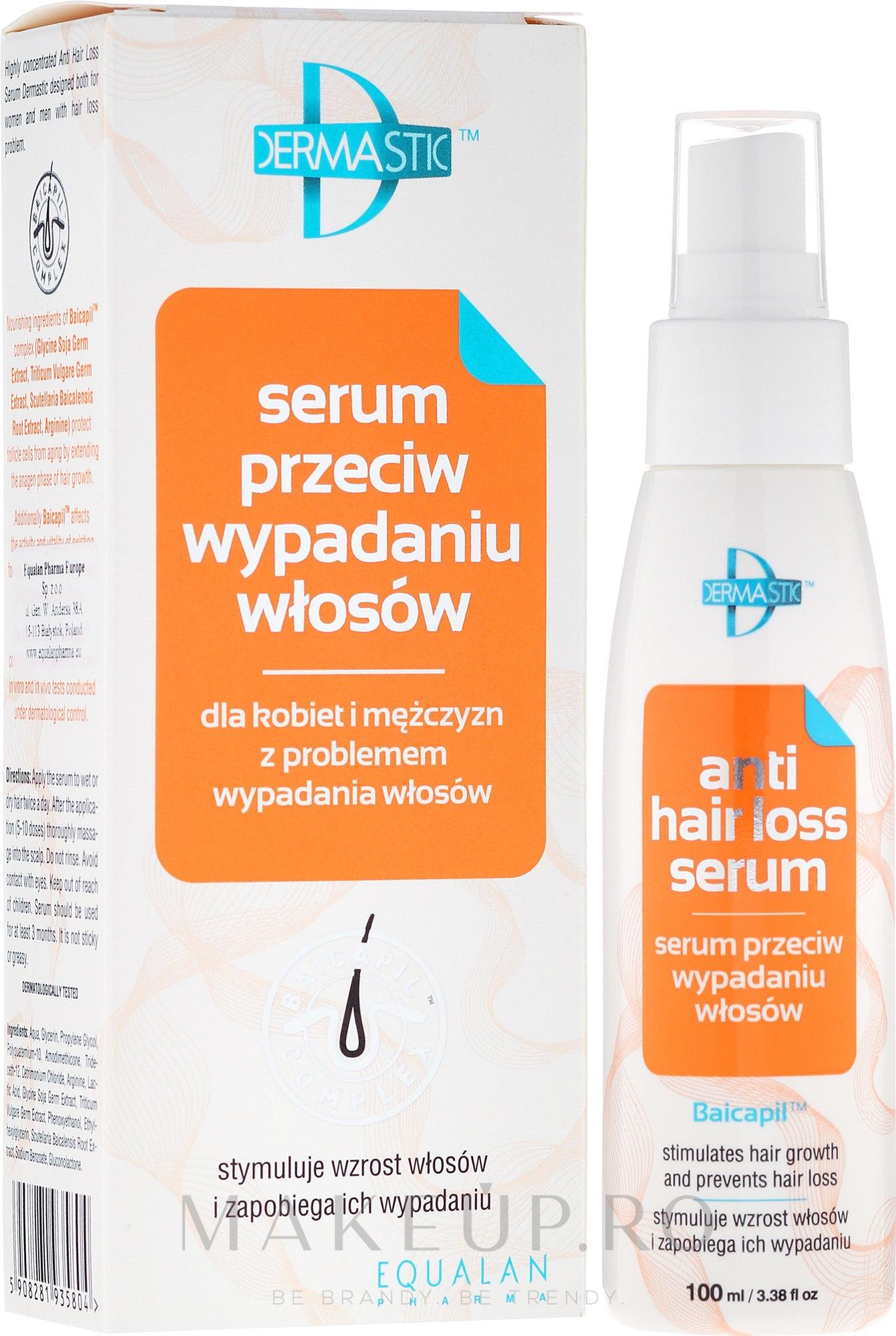 Ser pentru păr - Dermastic Anti Hair Serum — Imagine 100 ml