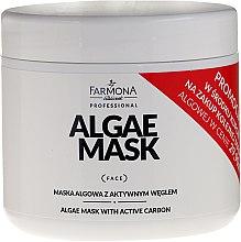 Parfumuri și produse cosmetice Mască pe bază de alge și cărbune activ pentru față - Farmona Professional Algae Mask With Active Carbon