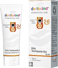 Parfumuri și produse cosmetice Pastă de dinți pentru copii - Dentissimo Kids Toothpaste Caramel