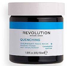 Parfumuri și produse cosmetice Mască de față - Revolution Skincare Thirsty Mood Quenching Moisturizing Night Facial Mask