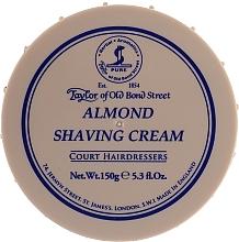 "Parfumuri și produse cosmetice Cremă de ras ""Migdale"" - Taylor of Old Bond Street Almond Shaving Cream Bowl"