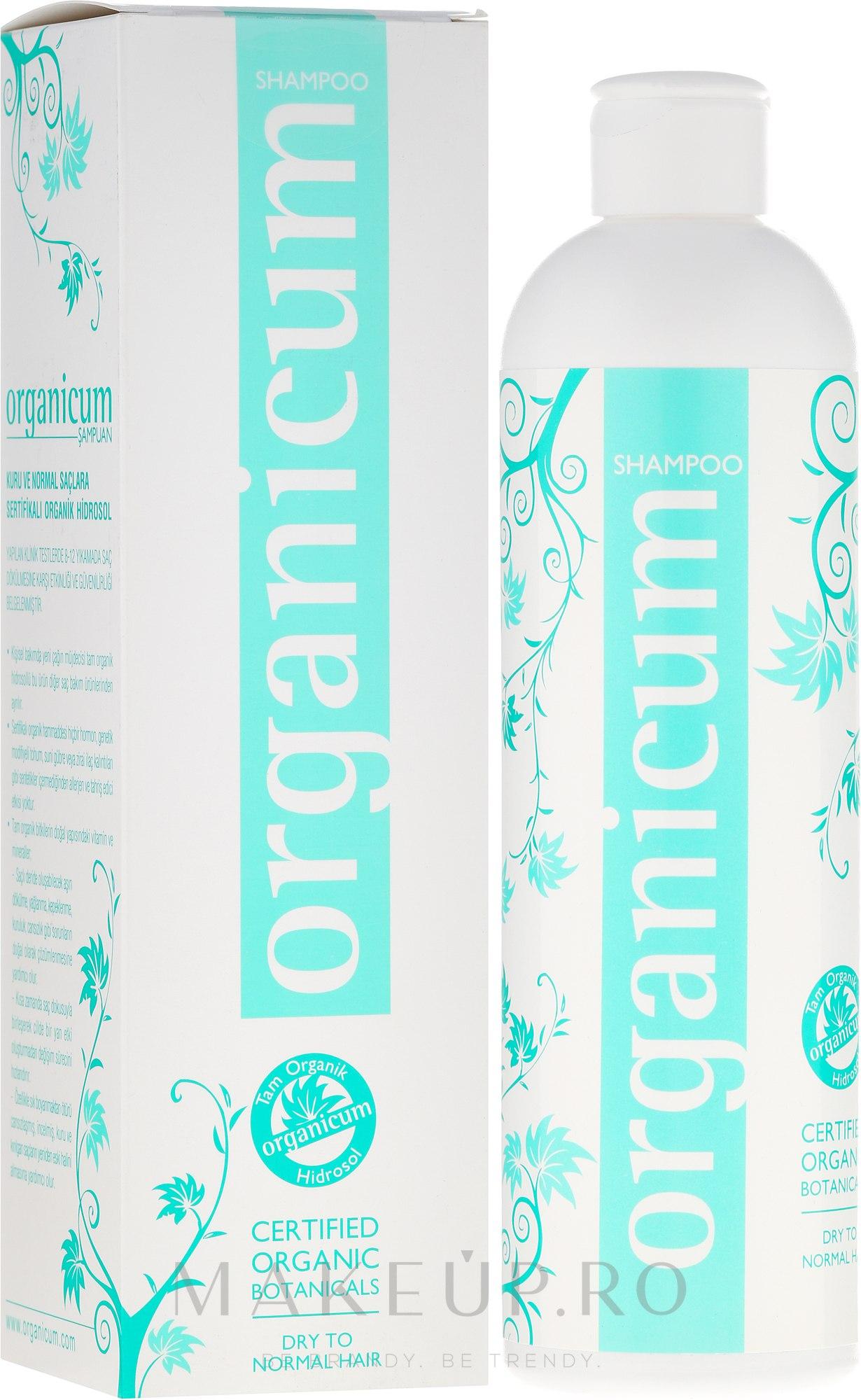 """Șampon de păr """"Mentă"""" - Terapi Organicum Hydrosolkomplex Shampoo — Imagine 350 ml"""