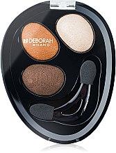 Parfumuri și produse cosmetice Fard de pleoape - Deborah Hi-Tech Eye Shadow Trio
