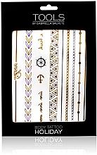 Parfumuri și produse cosmetice Tattoo stickers pentru corp - Gabriella Salvete Holiday