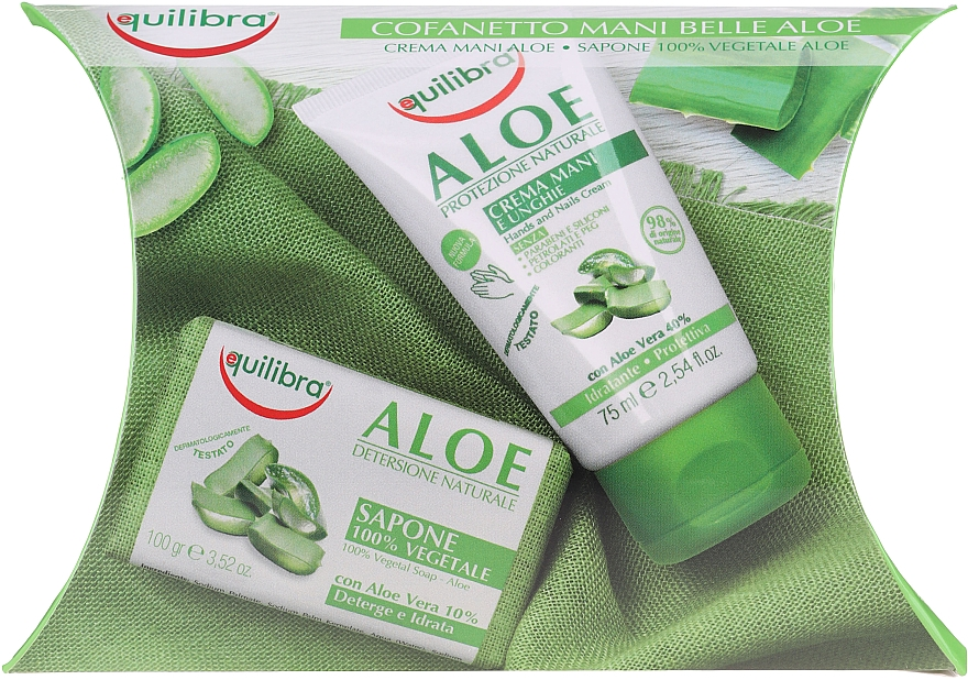 Set - Equilibra Aloe (cr/75ml + soap/100g) — Imagine N1