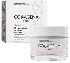 Parfumuri și produse cosmetice Cremă de noapte pentru față - Collagena Pure Base The Architect Night Cream