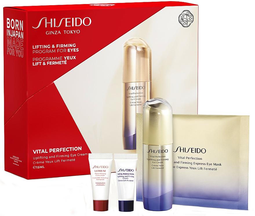 Set - Shiseido Vital Perfection (eye/cr/15ml + conc/5ml + cr/5ml + mask/1pcs) — Imagine N1