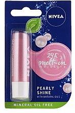 """Parfumuri și produse cosmetice Balsam de buze """"Strălucire perlată"""" - Nivea Lip Care Pearl & Shine Limited Edition"""